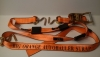 10 ft Big Orange Auto Tie Down Strap to Fit Small Hole Decks (Box of 8)